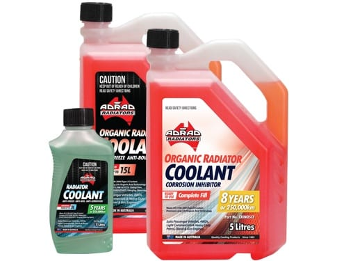 Natrad Coolants & Fluids