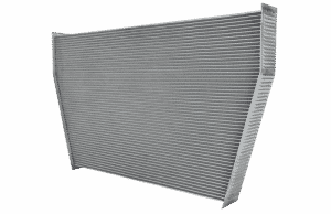 V Shaped Header Core 1 radiator model