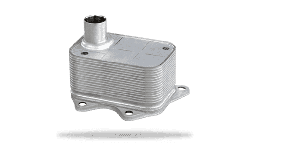 Long Engine-Mounted Engine Oil Coolers