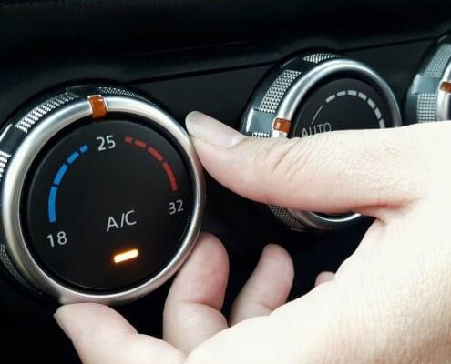 air conditioning car
